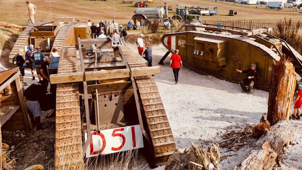 Three WWI Tanks