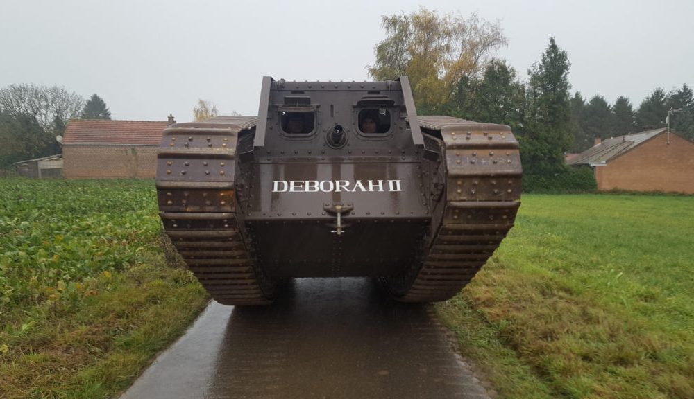 Guy Martin's Tank To Feature In Great Dorset Steam Fair WW1 Centenary Display Edit