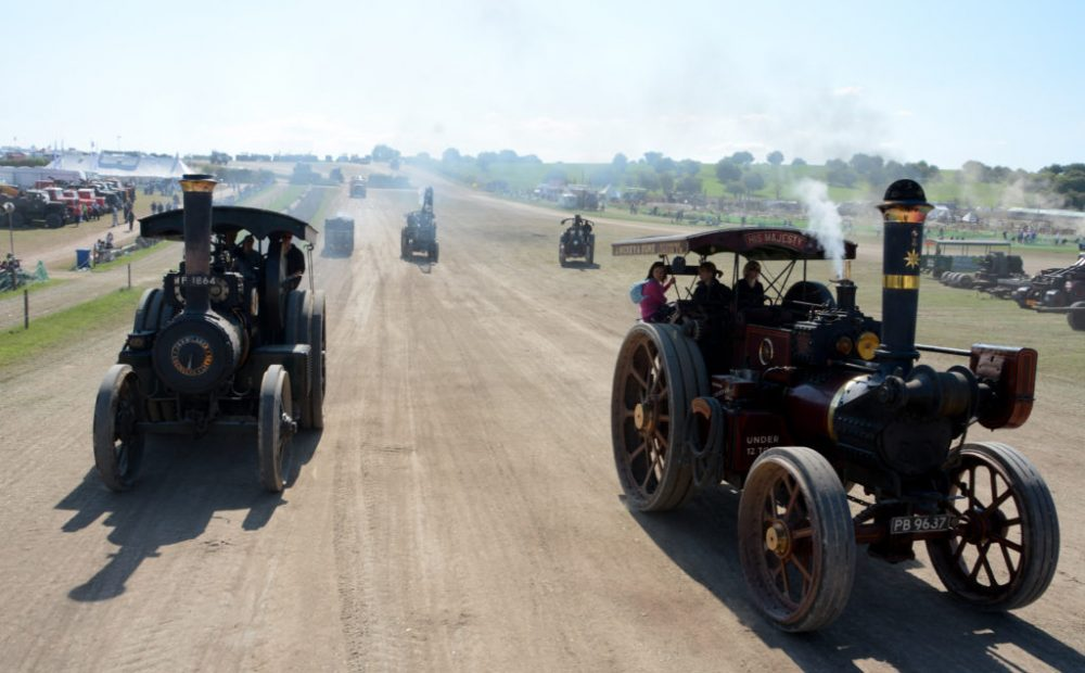 Great Dorset Steam Fair 50th Anniversary Event To Host The Biggest Gathering Of Steam Engines On Earth